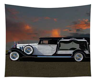 Prinzing Funeral Hearse Tapestry