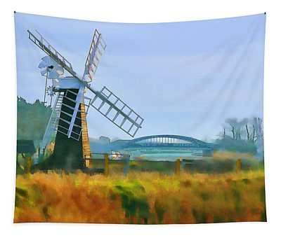 Priory Windmill Tapestry
