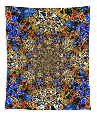 Prismatic Glasswork Tapestry