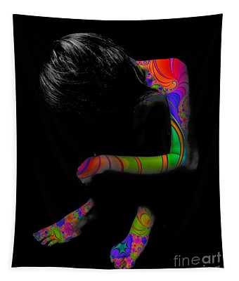 Projected Body Paint 2094915a Tapestry