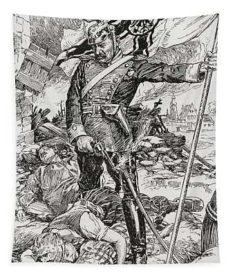 Propaganda Illustration Entitled The Tapestry