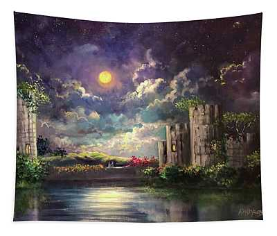 Proposal Underneath The Moon Tapestry