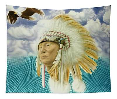 Proud As An Eagle Tapestry