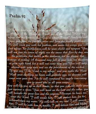 Psalm 91 Tapestry