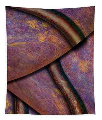 Psychedelic Pi Tapestry