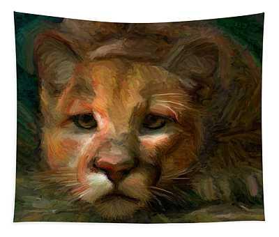 Puma 1 Tapestry