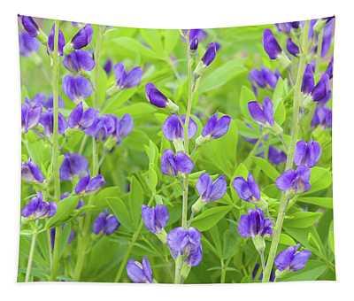 Purple Beauties Tapestry