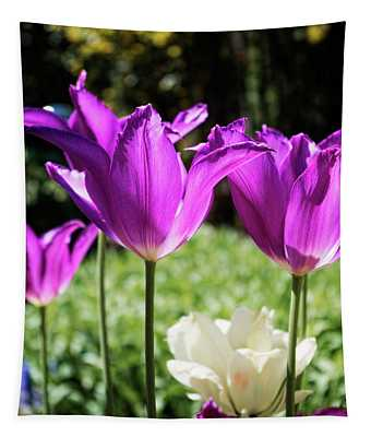 Purple Cups Tapestry