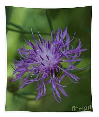 Purple Flower 8 Tapestry