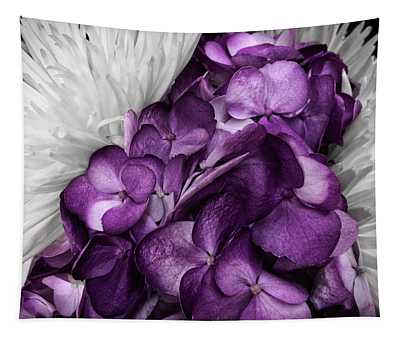 Purple In The White Tapestry
