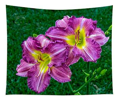 Purple Pair Tapestry