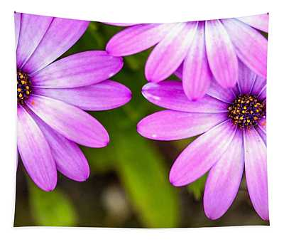 Purple Petals Tapestry
