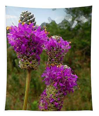 Purple Prairie Clover Tapestry