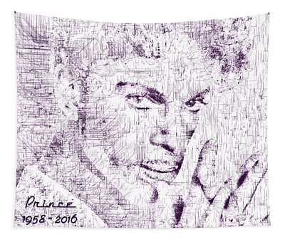 Purple Rain By Prince Tapestry