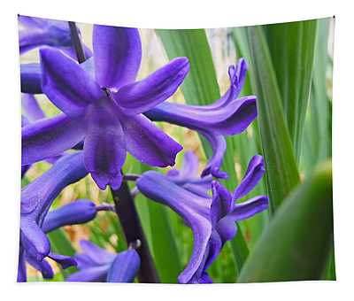 Purple Spring Tapestry