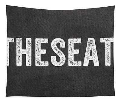 Put The Seat Down Tapestry