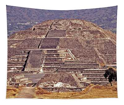 Pyramid Of The Sun - Teotihuacan Tapestry