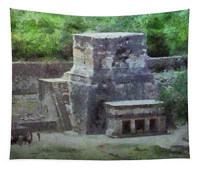 Pyramid View Tapestry