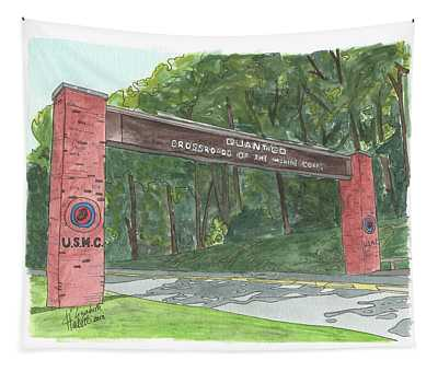 Quantico Welcome Tapestry