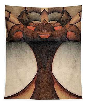 Queen Of Africa Tapestry