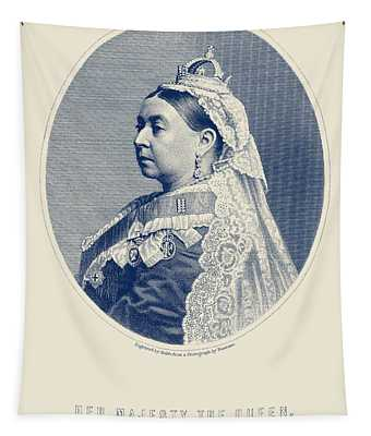 Queen Victoria Engraving - Her Majesty The Queen Tapestry