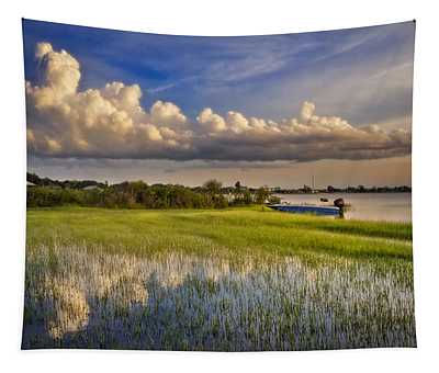 Quiet At Sunset Tapestry