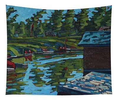 Quiet Morning At Chaffeys Tapestry