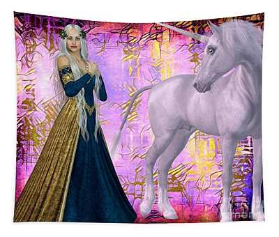 Quod Magicae Spectro Tapestry