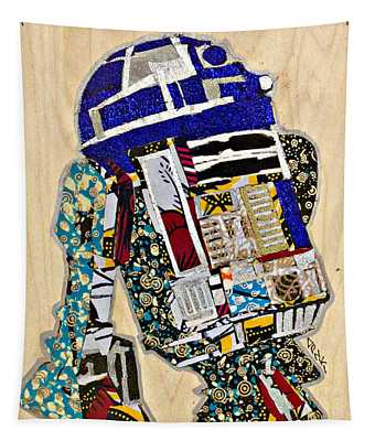 R2-d2 Star Wars Afrofuturist Collection Tapestry