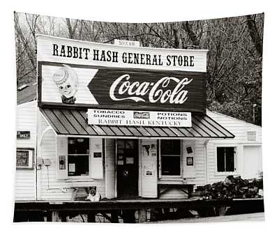 Rabbit Hash General Store- Photogaphy By Linda Woods Tapestry