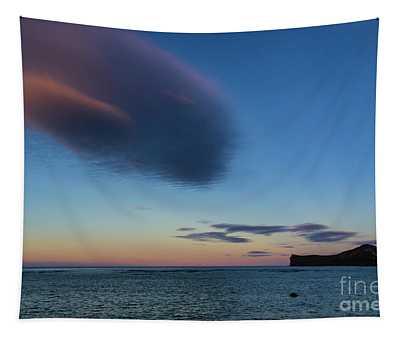 Rabbit Island Sunset Tapestry