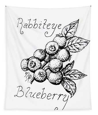 Rabbiteye Blueberry Tapestry