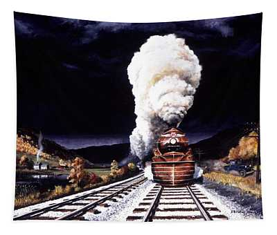 Racing The Storm Tapestry