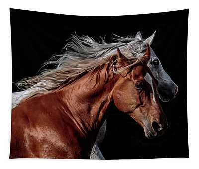 Racing With The Wind Tapestry