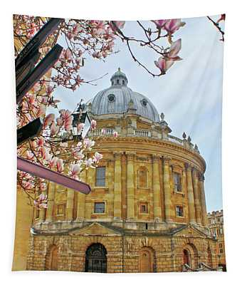 Radcliffe Camera Bodleian Library Oxford  Tapestry
