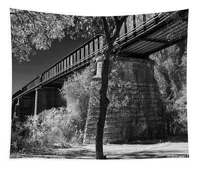 Railroad Bridge Austin Texas Tapestry