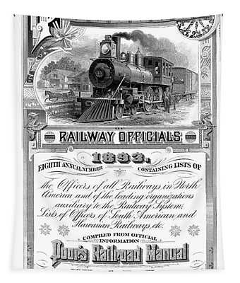 Railroad Official Directory  1893 Tapestry