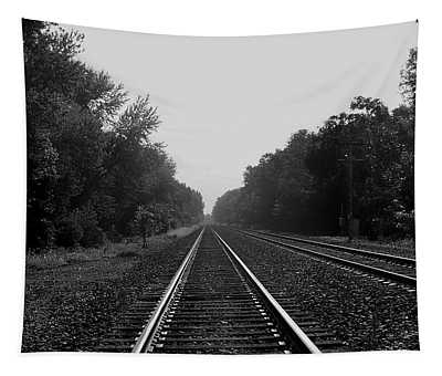 Railroad To Nowhere Tapestry