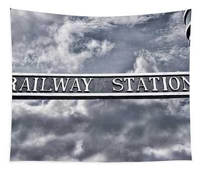 Railway Station Tapestry