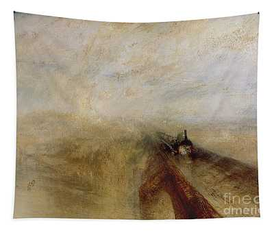 Rain Steam And Speed Tapestry
