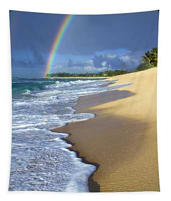Rainbow Froth Tapestry