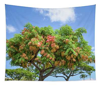 Rainbow Shower Tree 1 Tapestry