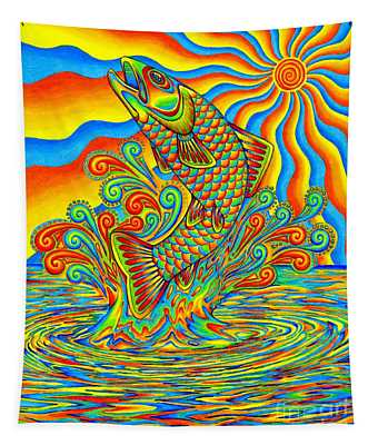 Rainbow Trout Tapestry