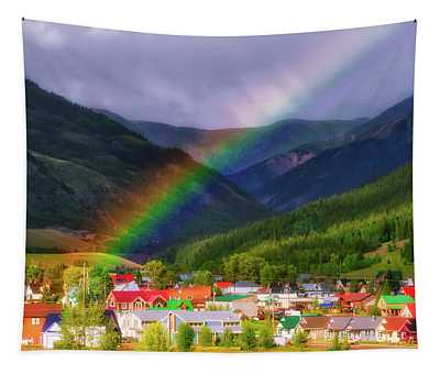 Rainbow's End Tapestry