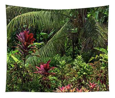 Tapestry featuring the photograph Rainforest by Jim Thompson