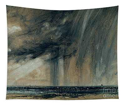 Rainstorm Over The Sea Tapestry