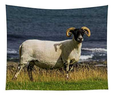 Ram With Attitude Tapestry