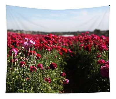 Ranunculus Field Tapestry