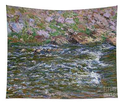 Rapids On The Petite Creuse At Fresselines, 1889 Tapestry