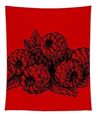 Rasbperries Tapestry